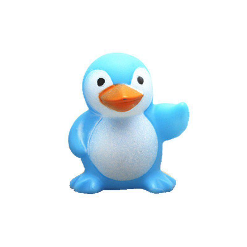 Cute Penguin Style Sound Toy for Kids Bathing Paddle Essential пинетки митенки blue penguin puku