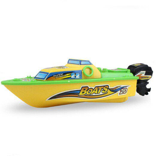 Mini Water Bath Toys Electric Boat Model for Kids