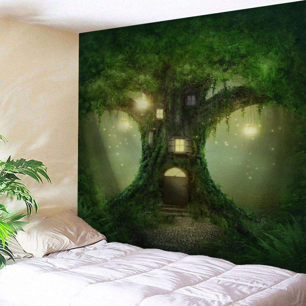 Fairy Tree Wall Hanging Tapestry Home Decoration fairy apple orchard print wall blanket tapestry