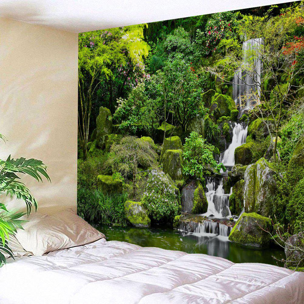 Mountain Falls Print Tapestry Wall Hanging Art карандаш для глаз provoc provoc pr031lwzyh36