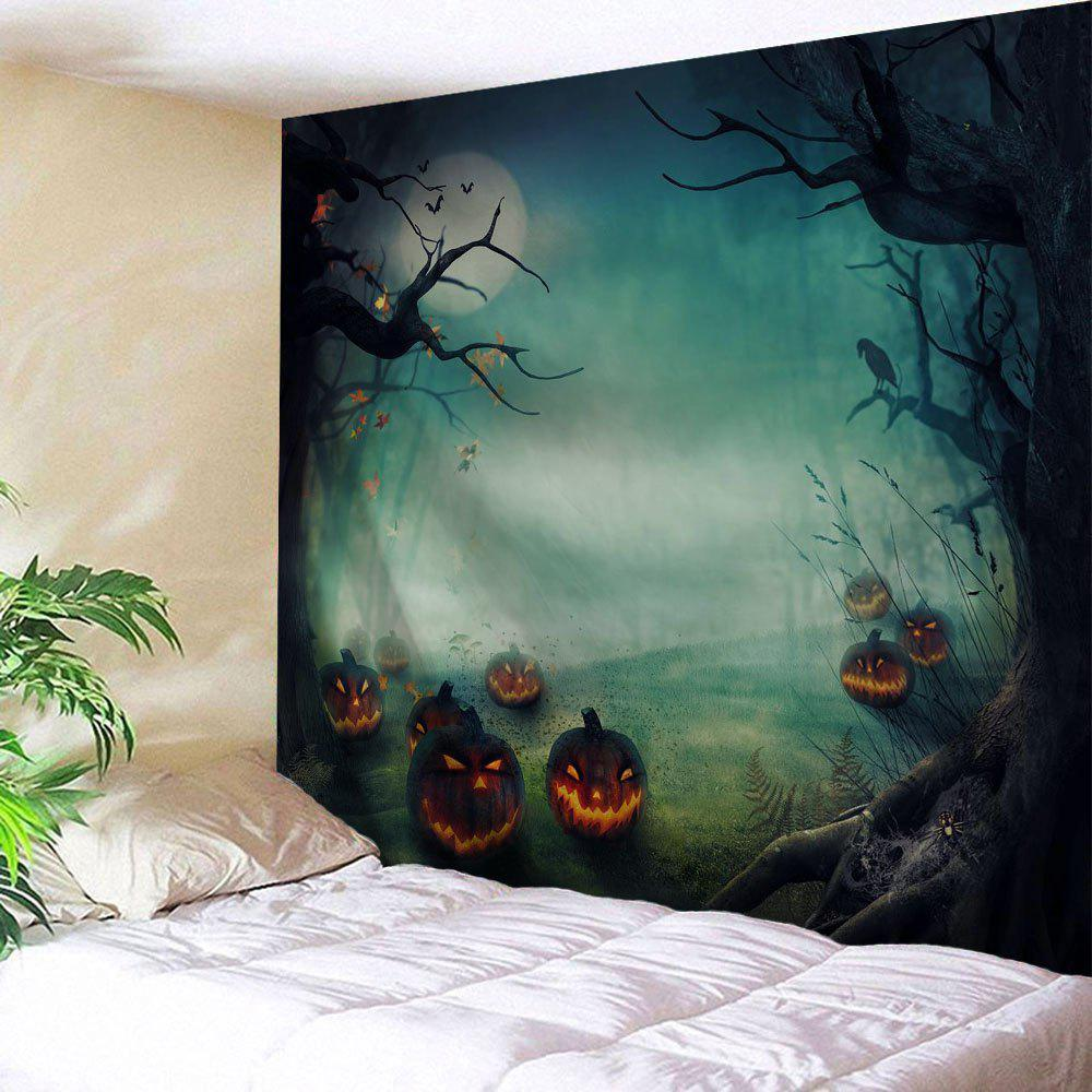 Halloween Pumpkins Print Tapestry Wall Hanging Art some pumpkins