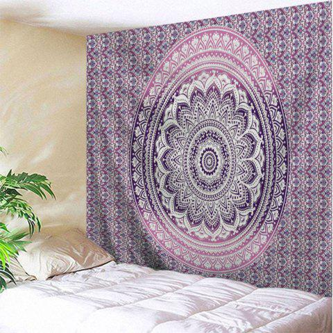 Wall Hanging Mandala Home Decoration Tapestry - PURPLE W71 INCH * L91 INCH