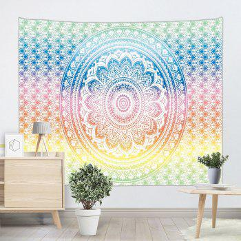 Mandala Print Wall Decor Hanging Throw Tapestry - COLORMIX W59 INCH * L79 INCH
