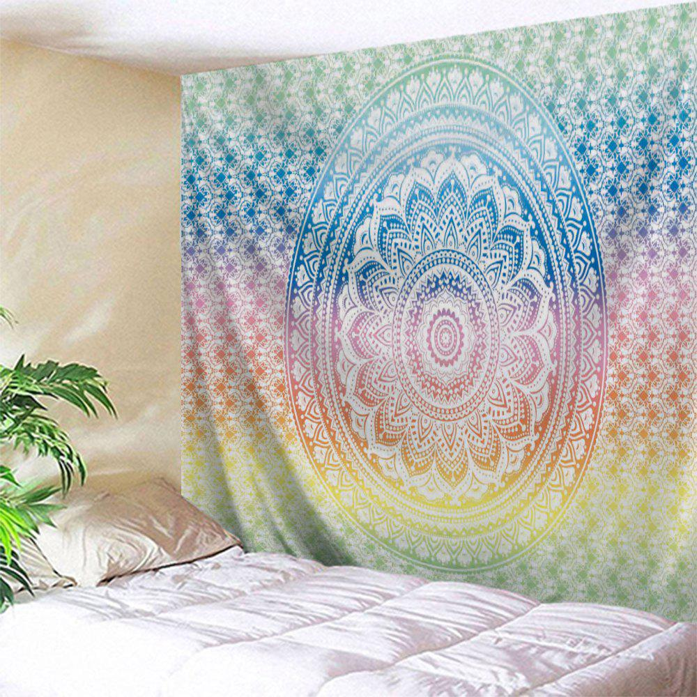 Mandala Print Wall Decor Hanging Throw Tapestry wall hanging watercolor space throw tapestry