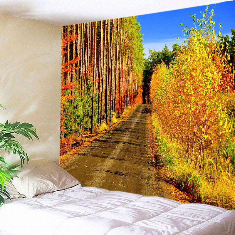 Forest Path Print Tapestry Wall Hanging Art forest wooden bridge print tapestry wall hanging art