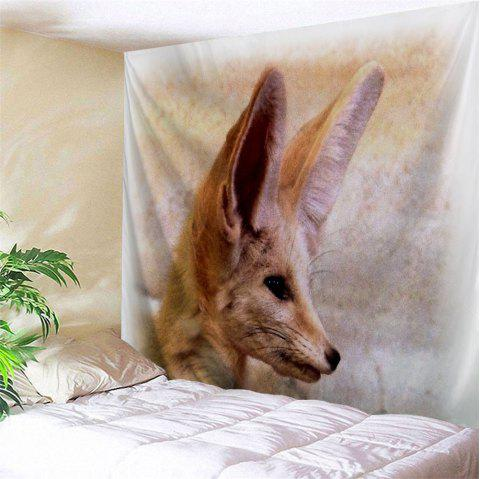 Fox Animal Wall Decoration Hanging Tapestry - LIGHT BROWN W51 INCH * L59 INCH