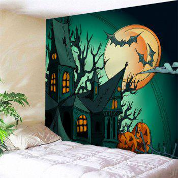 Halloween Theme Decoration Fabric Wall Tapestry