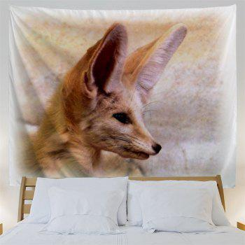 Fox Animal Wall Decoration Hanging Tapestry - LIGHT BROWN W59 INCH * L59 INCH