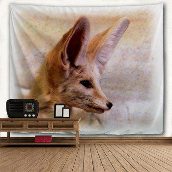 Fox Animal Wall Decoration Hanging Tapestry - LIGHT BROWN W59 INCH * L79 INCH