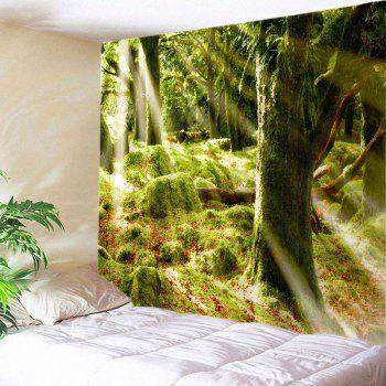 Forest Stone Print Tapestry Wall Hanging Art