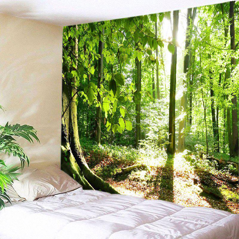 Forest Sunshine Print Tapestry Wall Hanging Decor табурет sunshine
