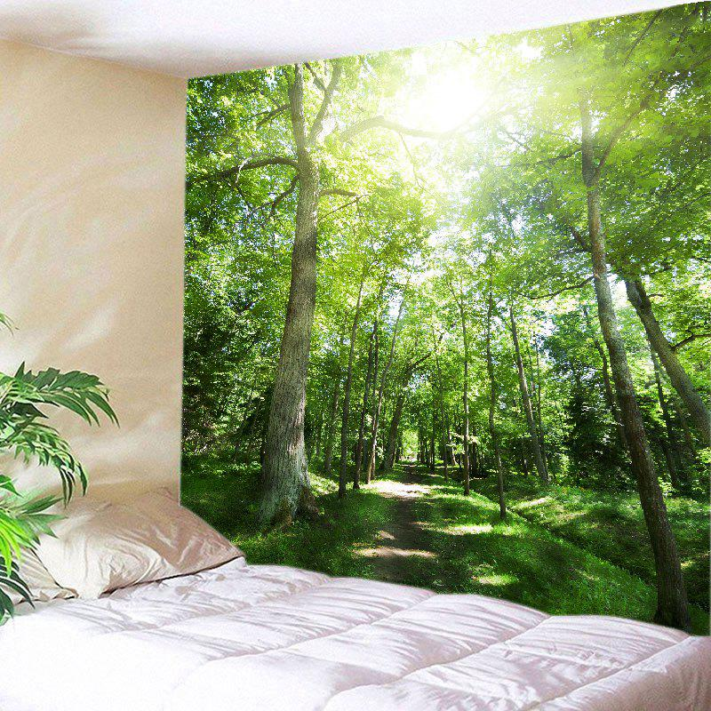Sunshine Forest Pathway Print Tapestry Wall Hanging Art табурет sunshine