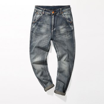 Fade Regular Fit Tapered Jeans - GRAY 30