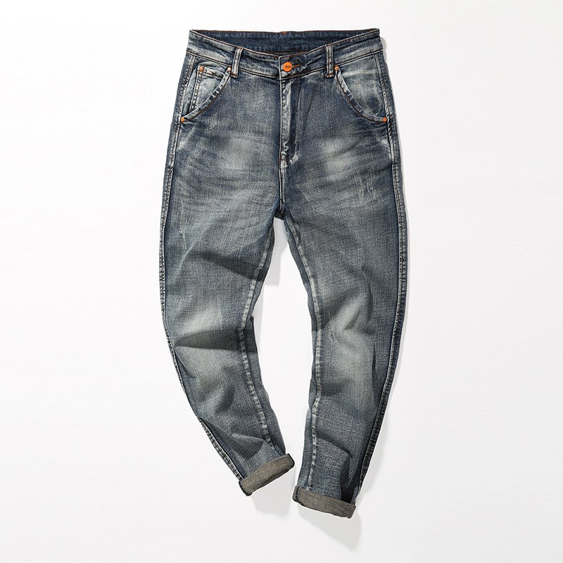 Fade Regular Fit Tapered Jeans - Gris 30