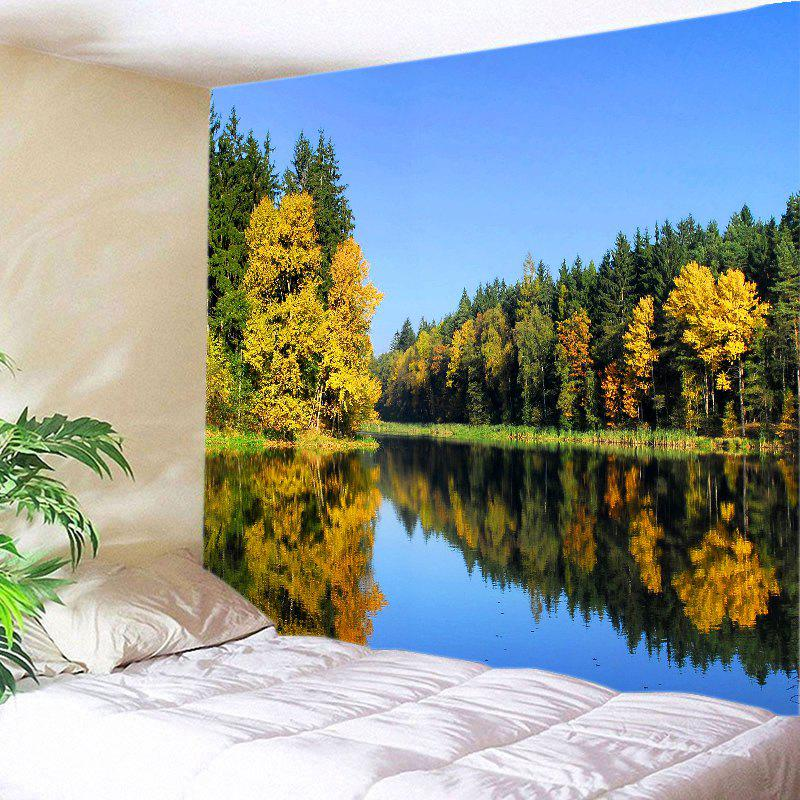 Lake Forest Print Tapestry Wall Hanging Decoration lake forest print tapestry wall hanging art