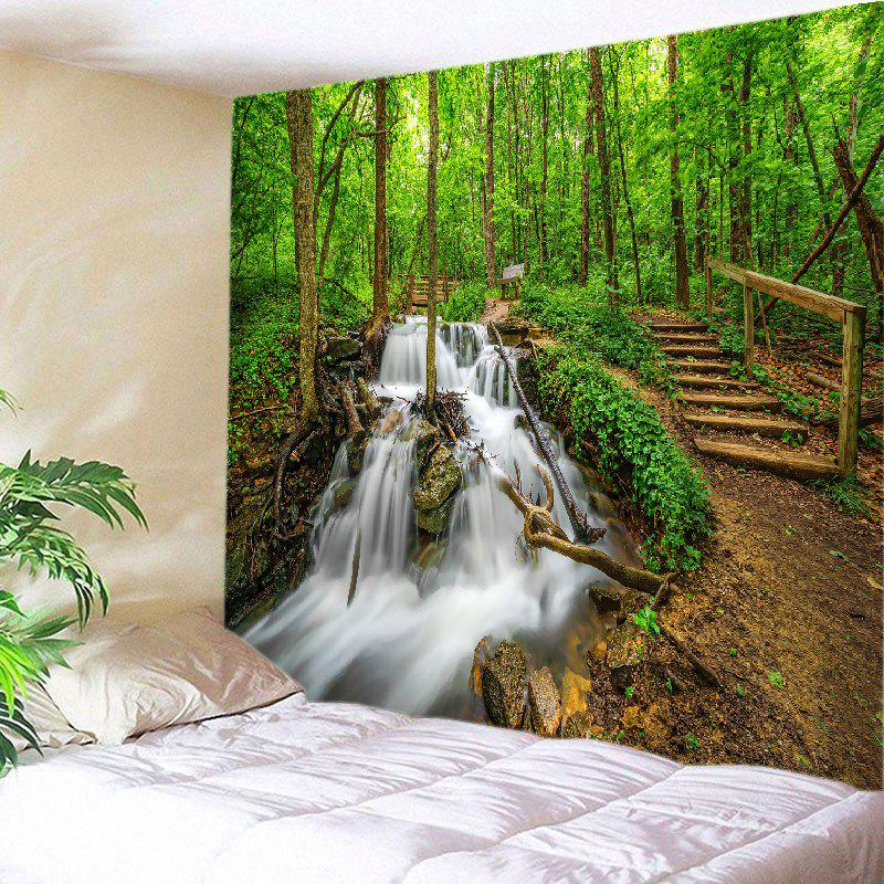 Forest Streams Print Tapestry Wall Hanging streams of stream classifications