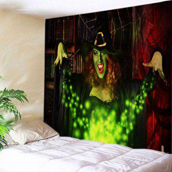 Halloween Witch Print Tapestry Wall Hanging Art