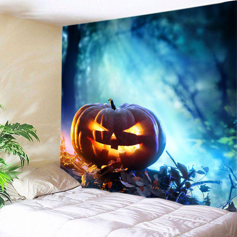 Halloween Pumpkin Print Tapestry Wall Hanging Art Decor wall hanging art decor halloween cemetery print tapestry