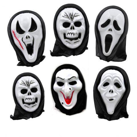 1PC Special Pattern Mask Novelty Toy for Halloween - COLORMIX