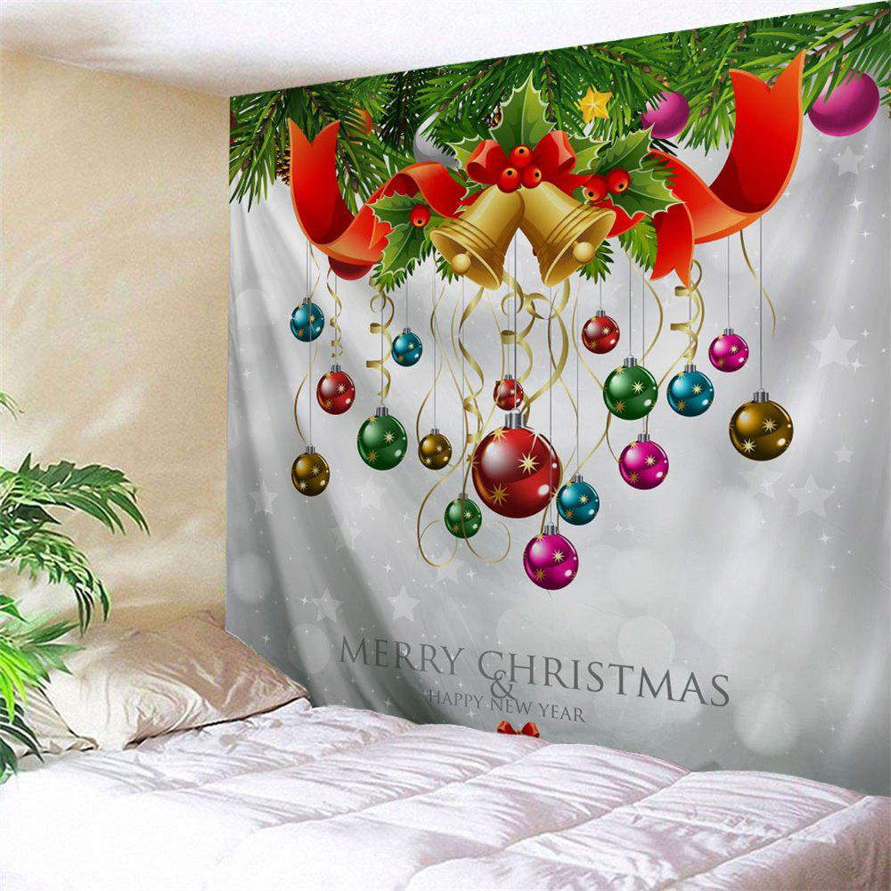 Christmas Ball Bell Wall Hanging Tapestry цена 2017