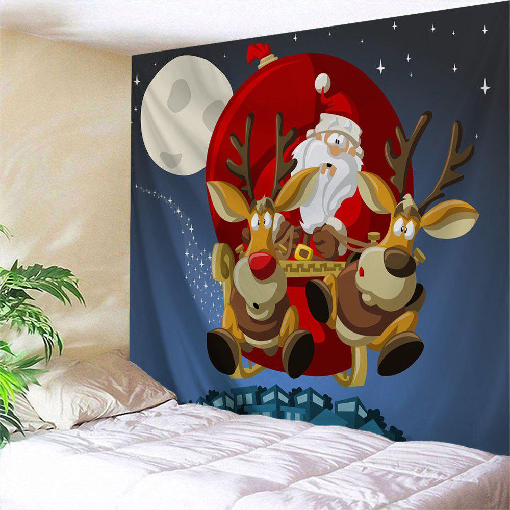 Wall Decor Christmas Sled Tapestry