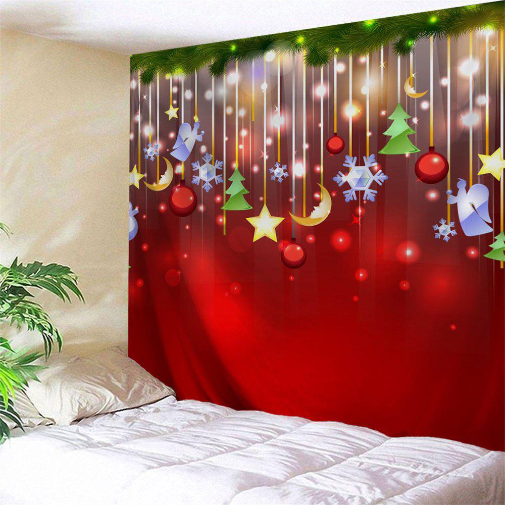 bedroom tapestry. Christmas Star Moon Tree Bedroom Tapestry  RED W91 INCH L71 W L in