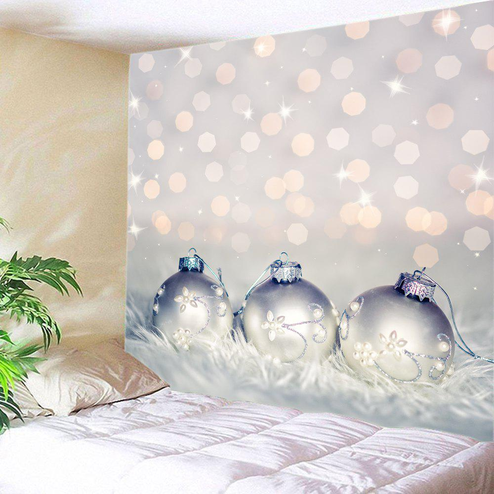 Xmas Baubles Print Tapestry Wall Hanging Art household product plastic dustbin mold makers
