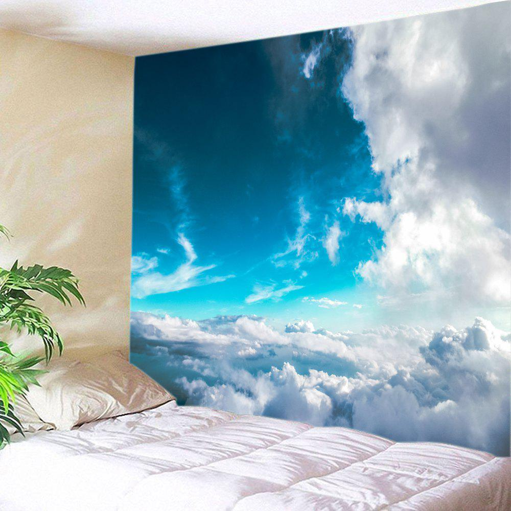 Sea of Clouds Print Tapestry Wall Hanging Art sea of clouds print tapestry wall hanging art