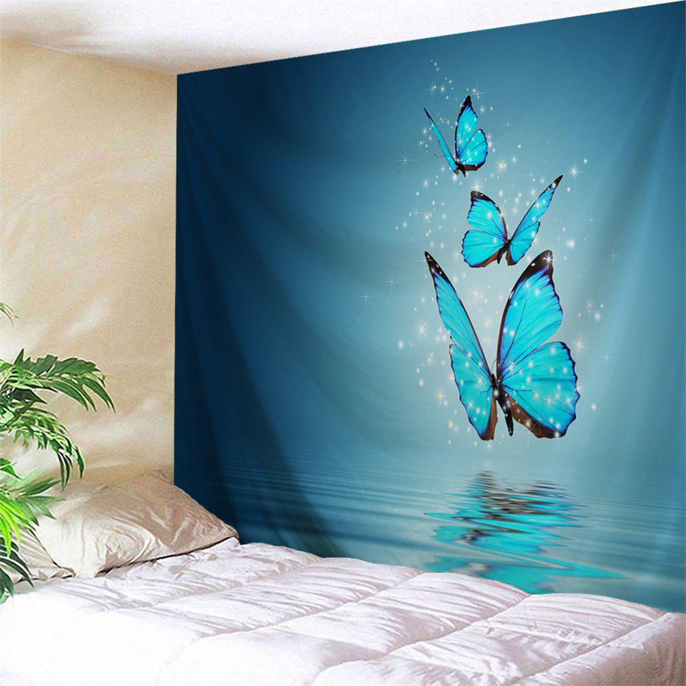 Wall Hanging Butterfly Shadow Printed Tapestry outer space printed wall hanging tapestry