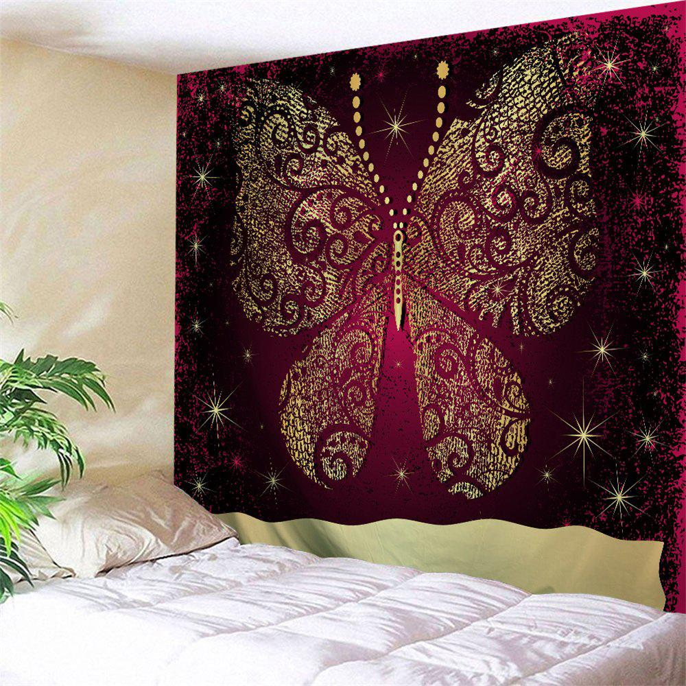 2018 Wall Decor Butterfly Printed Bedroom Tapestry