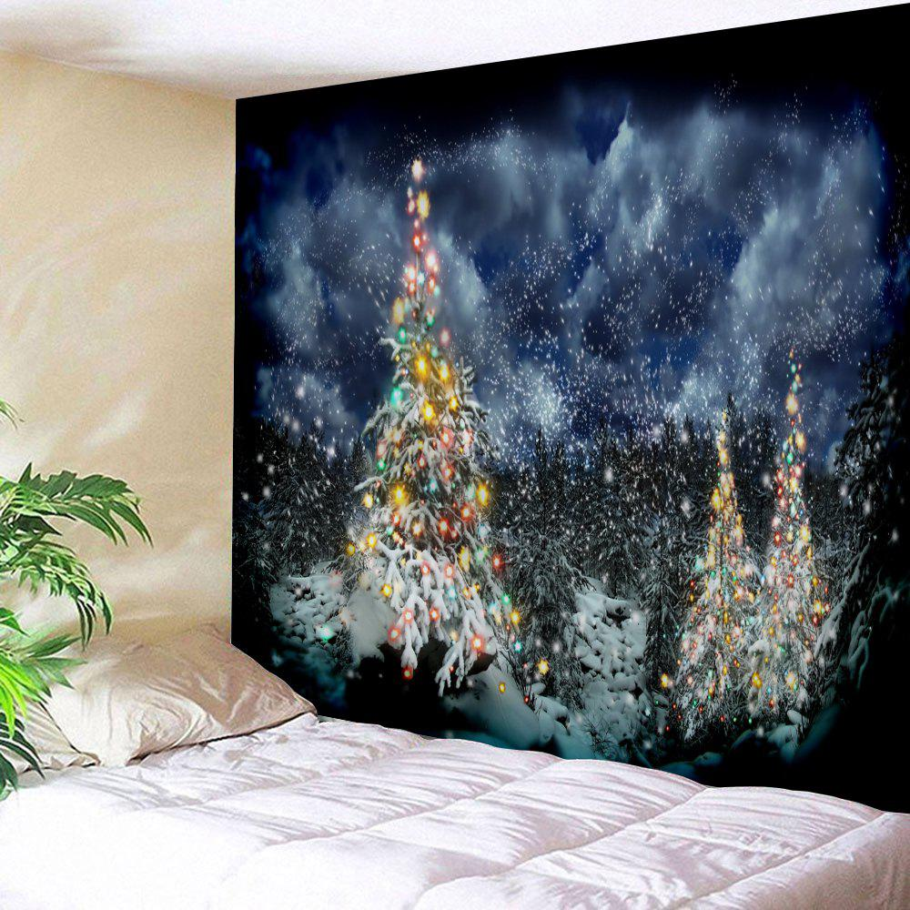 Wall Hanging Christmas Cedar Printed Tapestry outer space printed wall hanging tapestry