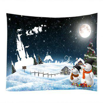 Christmas Starry Sky Print Tapestry Wall Hanging Art - COLORMIX COLORMIX