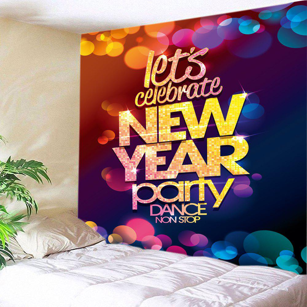 New Year Party Print Tapestry Wall Hanging Art 3 lens 36 patterns rg blue led new year christmas party laser projector stage lighting dj disco bar party show stage light