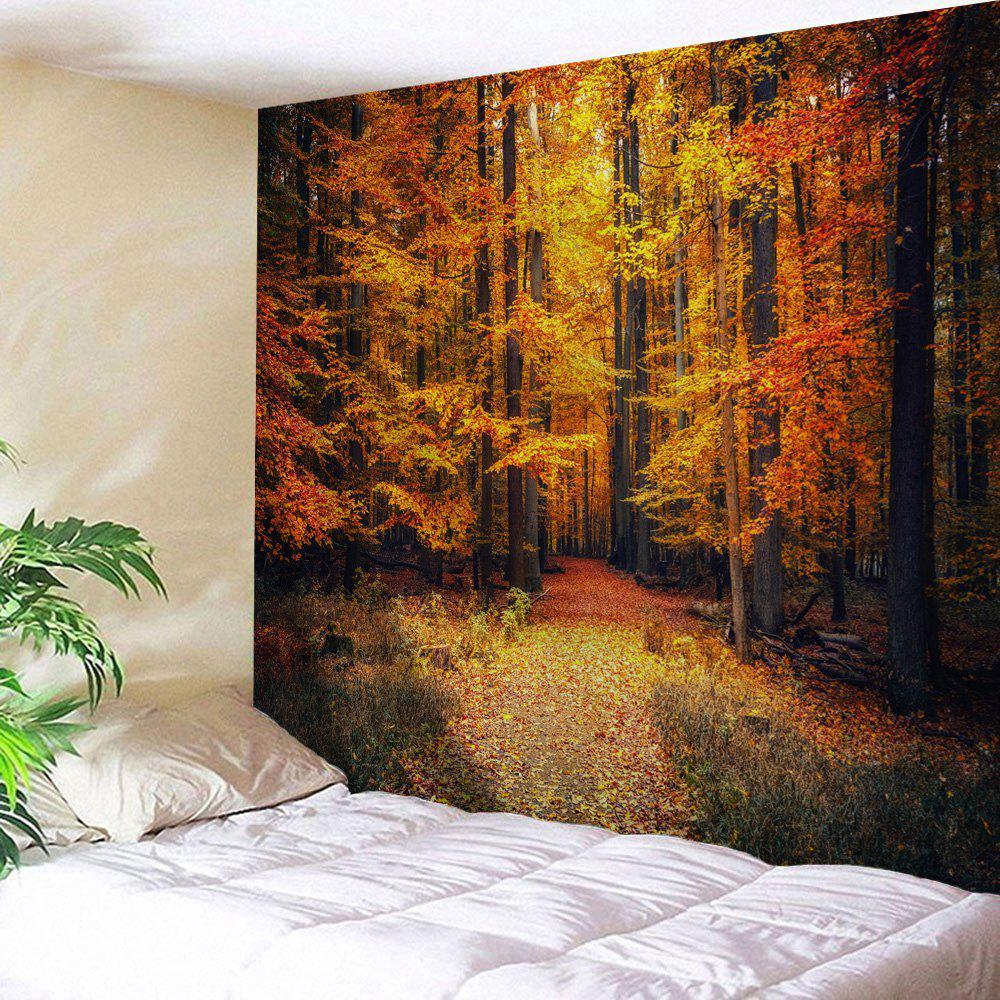 Maple Forest Path Print Tapestry Wall Hanging Art цены