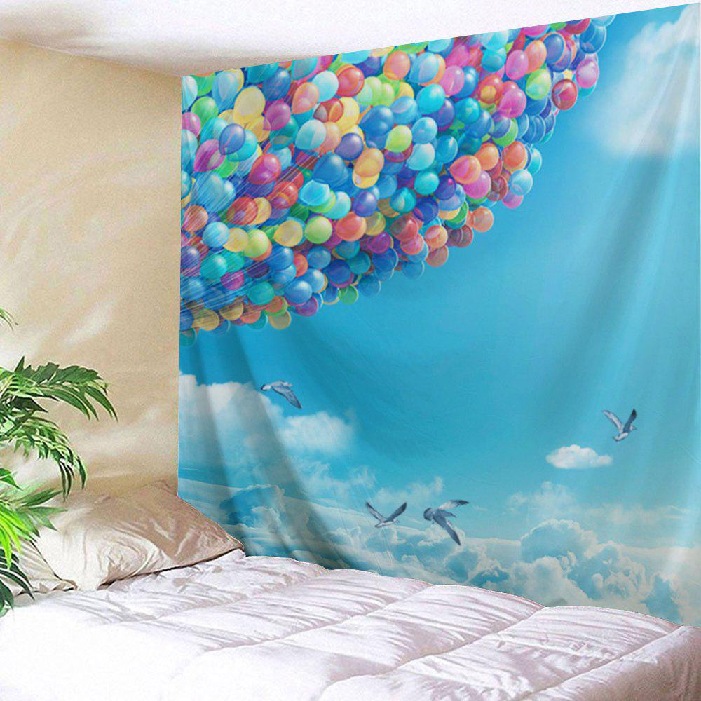 Sky Ballons Print Tapestry Wall Hanging Decoration