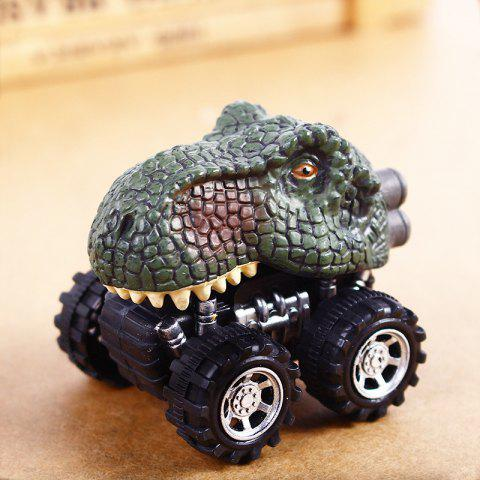 Fun Children Dinosaur Pull Back Car Model Toy 1pc - COLORMIX B
