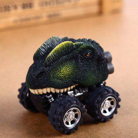 Fun Children Dinosaur Pull Back Car Model Toy 1pc - COLORMIX C