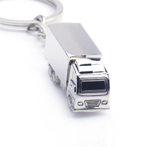 Big Truck Style Key Chain for Decoration - SILVER