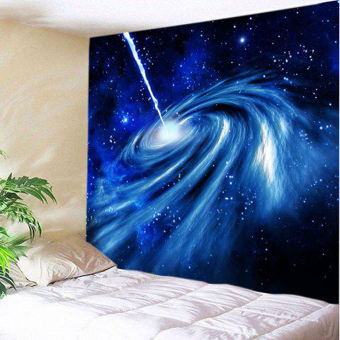 Milky Way Print Tapestry Wall Hanging Art - BLUE W59 INCH * L59 INCH