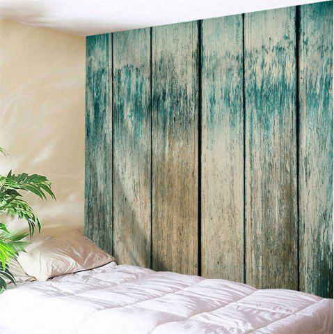 Vintage Wood Board Print Decorative Wall Art - COLORMIX W79 INCH * L59 INCH