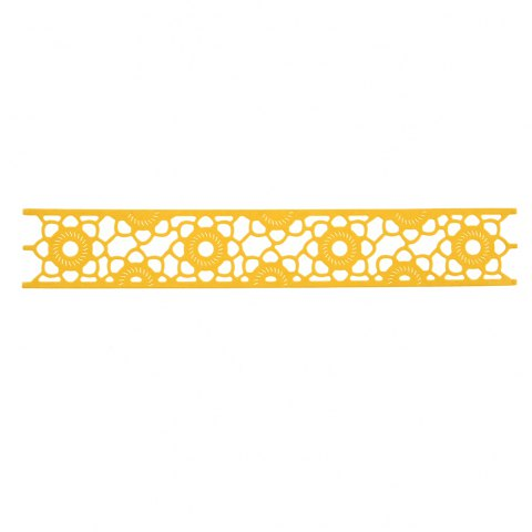 Lace Border Stencil Mould Carbon Steel Embossing Plate Cutting Die for DIY - SILVER