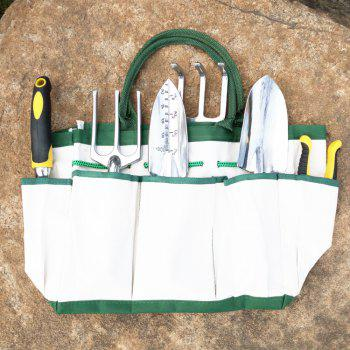 Gardening Fitting for Home Flower Plant 6pcs with Storage Bag - WHITE