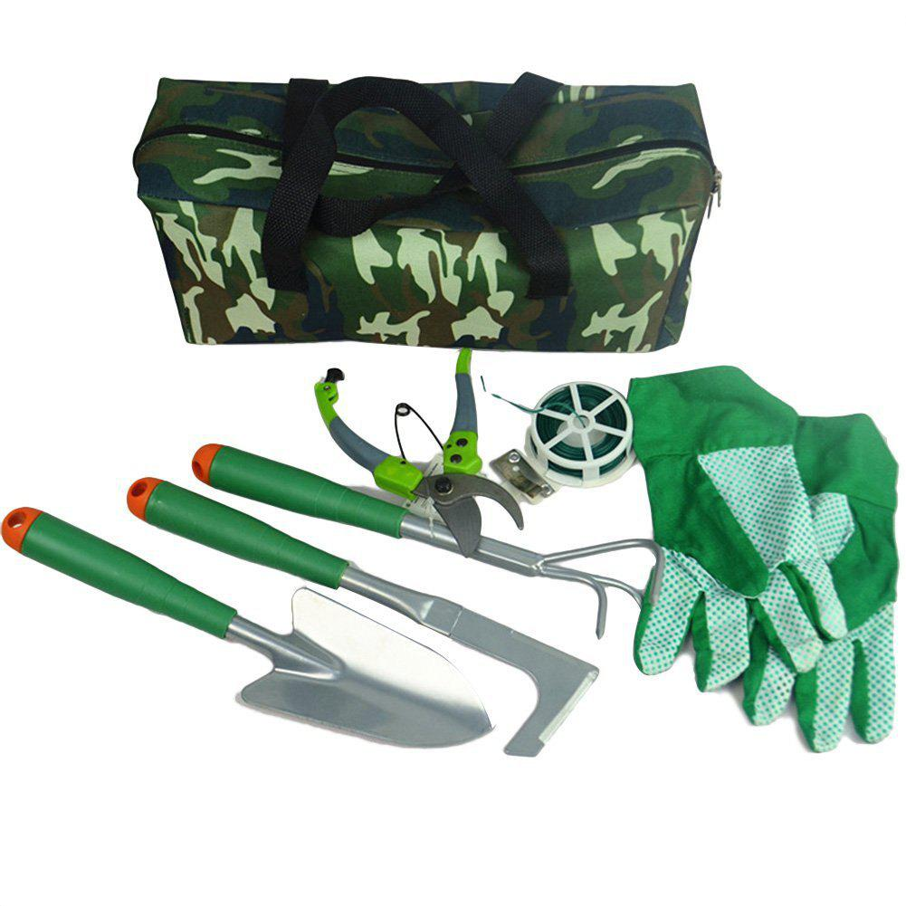 Gardening Fitting for Home Flower Plant 7pcs with Storage Bag - MEDIUM SEA GREEN