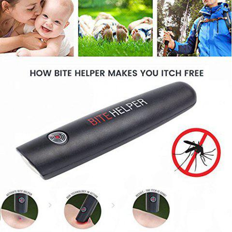 Bite Helper - Bug Bite Itch Neutralizer, Bug Bite Relief Solution for the Entire Family - BLACK