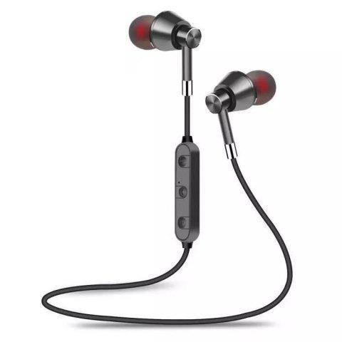 M7 Wireless Bluetooth Earbuds Stereo Subwoofer Earphone for iOS Android Phone - GRAY