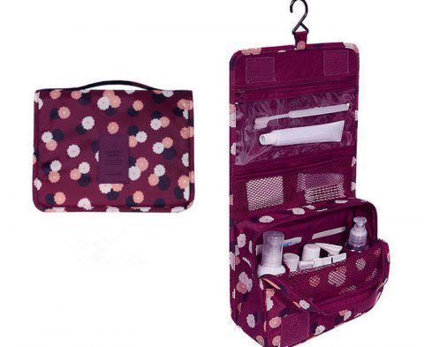 Multi-function Leisure Traveling Cosmetic Bags - PLUM PIE