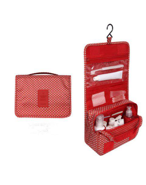 Multi-function Leisure Traveling Cosmetic Bags - LAVA RED