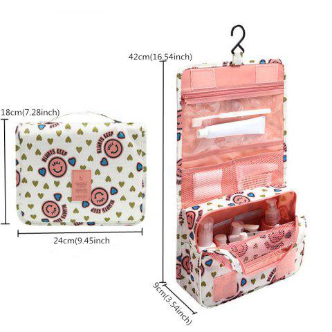 Multi-function Leisure Traveling Cosmetic Bags - ROSE