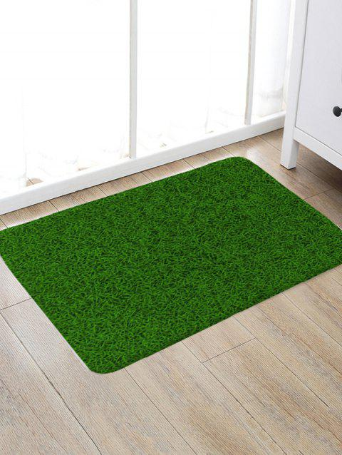 Grass Printed Floor Rug - multicolor A W20 X L31.5 INCH