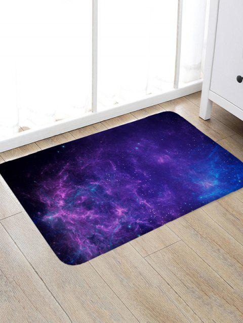 Starry Sky Pattern Floor Rug - multicolor A W20 X L31.5 INCH